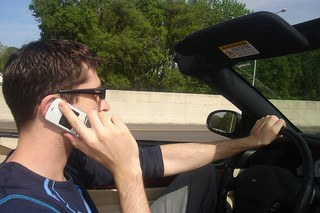 Driving While Distracted: Driver Distractions, Auto Accidents And Your Car Insurance Rates