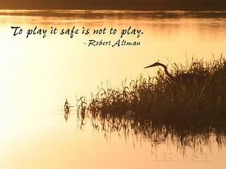 Should Christians ?Play It Safe? In Life?