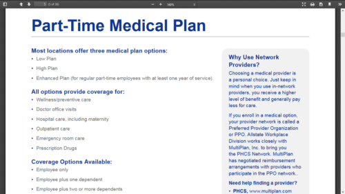 Lowes Employee Benefits >> 20 Part Time Jobs With Health Insurance